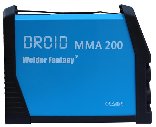 Spawarka inwertorowa DROID MMA 200 Welder Fantasy z opcją TIG LIFT