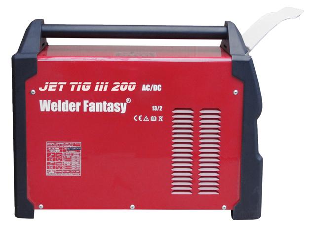 Spawarka inwertorowa JET TIG III AC/DC 200 3w1 IGBT PFC PLASMA Welder Fantasy
