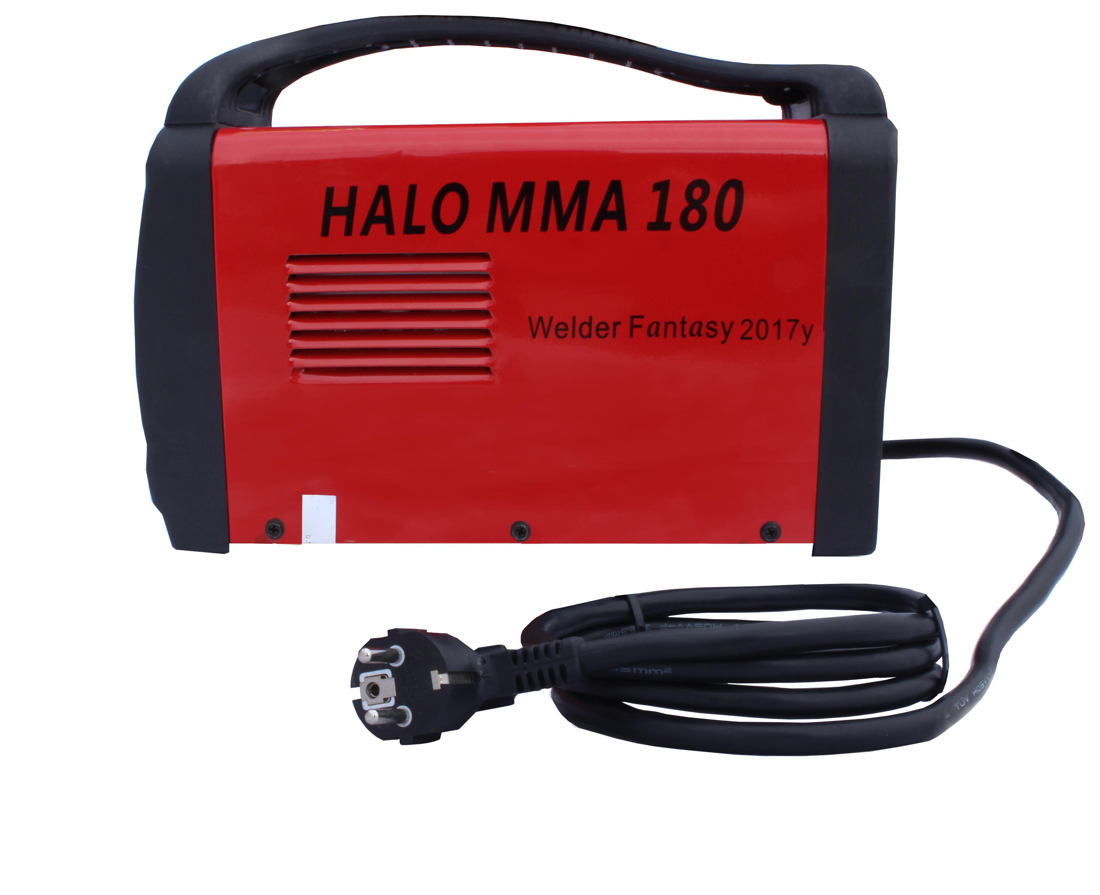 Spawarka inwerterowa HALO MMA180A Welder Fantasy