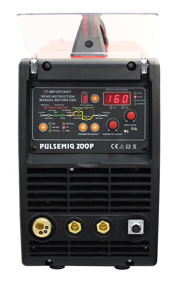 Urządzenie 3w1 półautomat spawalniczy PULSEMIG 200 160A Welder Fantasy